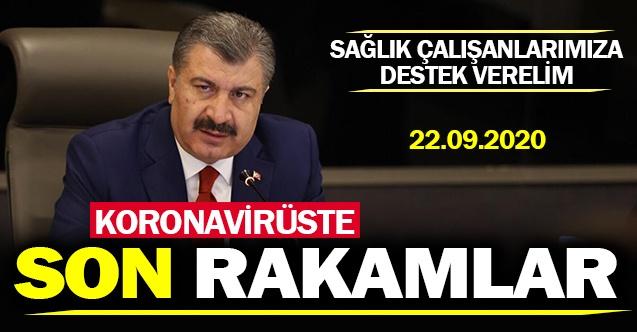 Bakan Koca bugünkü Türkiye koronavirüs tablosunu açıkladı