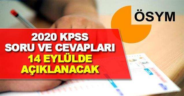 KPSS ve ÖABT Sınav Soru ve Cevapları 14 Eylül'de Erişime Açılacak