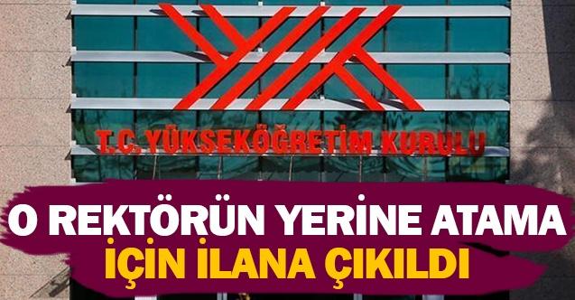 Pamukkale Üniversitesi o Rektörün yerine atama için ilana çıktı