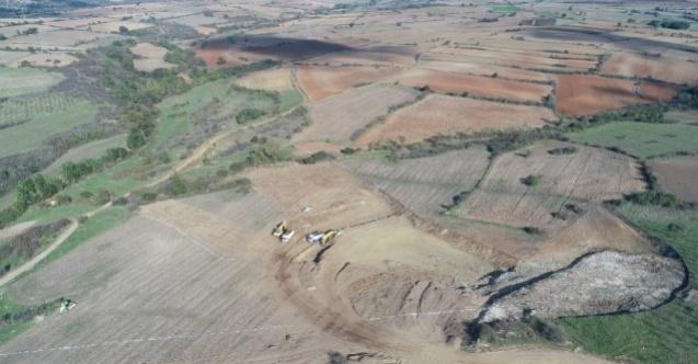 Edirne Lalapaşa Büyüköğünlü Göleti ve sulamasında ilk kazma vuruldu