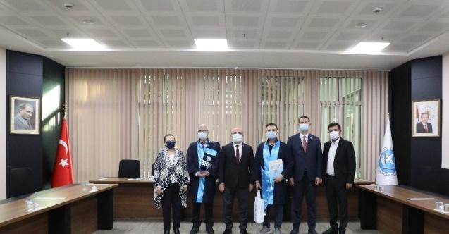 İSG Uzmanlığı Sınav birincisi diplomasını aldı