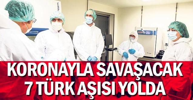 Koronayla savaşacak 7 Türk aşısı yolda