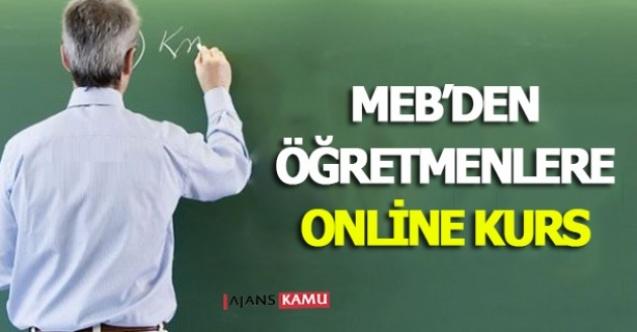 MEB'den Öğretmenlere Yönelik Online Kurs