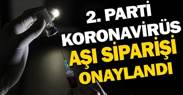 Türkiye'nin Sipariş Verdiği İkinci Parti Aşılar Geliyor