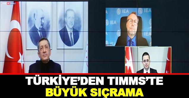 Türkiye TIMMS'te Büyük Sıçrama Yaparak Fark Attı