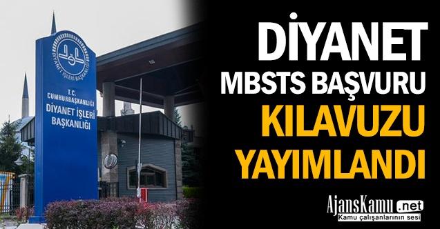 Diyanet, MBSTS Başvuru Kılavuzu Yayımlandı
