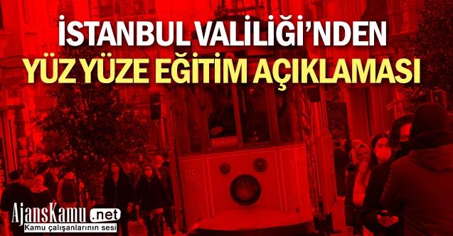 İstanbul Valiliği'nden normalleşme süreci açıklaması