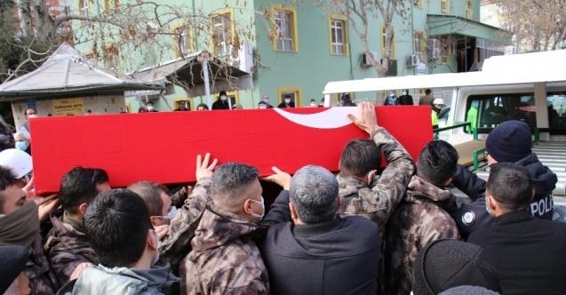 Kalbine yenik düşen Şehit Barak, son yolculuğuna uğurlandı