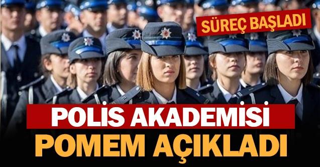 Polis Akademisi Açıkladı: POMEM Polislikte Süreç Başladı