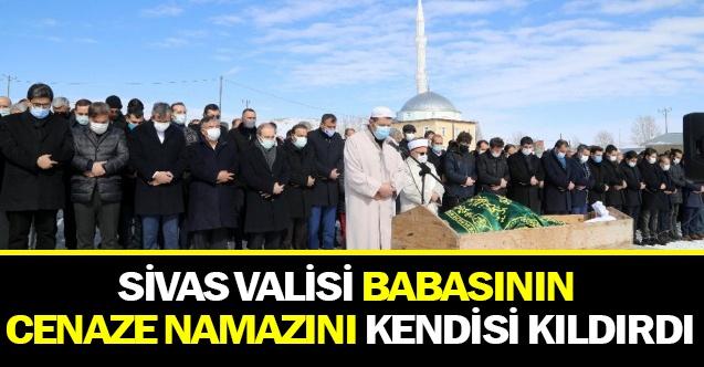 Sivas Valisi Salih Ayhan Babasının Cenaze Namazını Kendisi Kıldırdı