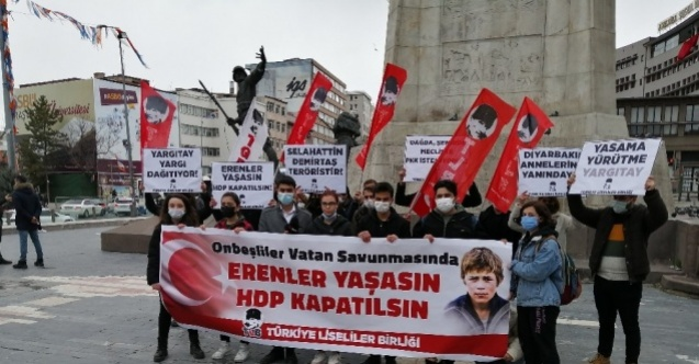 Liselilerden HDP kapatılsın talebi