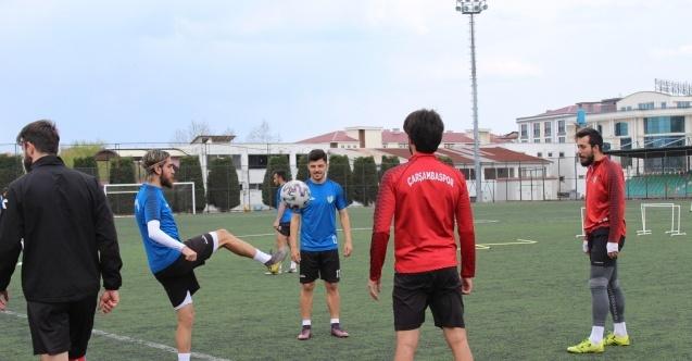 Çarşambaspor Play-off için çalışıyor