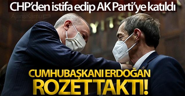 CHP'li o isim AK Parti'ye geçti!
