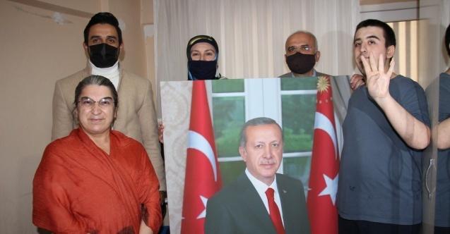 Cumhurbaşkanı Erdoğan hayranı otizmli genci sevindiren hediye