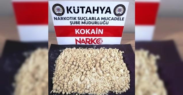 Kütahya'da 407 gram kokain ele geçirildi