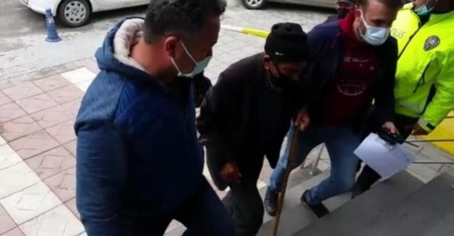 Tacizci yaşlı adam tutuklandı