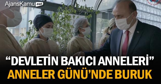 """""""DEVLETİN BAKICI ANNELERİ"""", ANNELER GÜNÜ'NDE BURUK"""