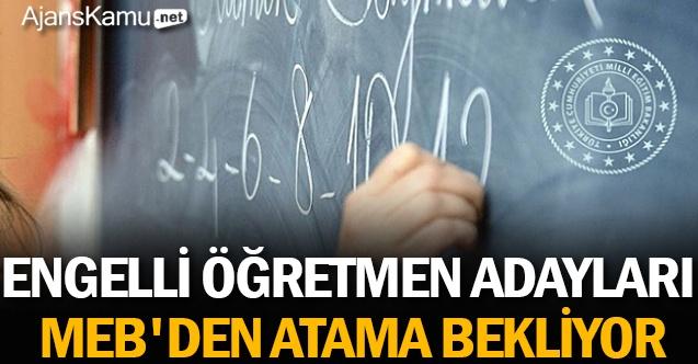Engelli Öğretmen Adayları MEB'den Atama Bekliyor