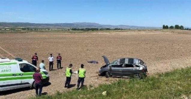 İlçe Sağlık Müdürlüğü personeli kazada hayatını kaybetti