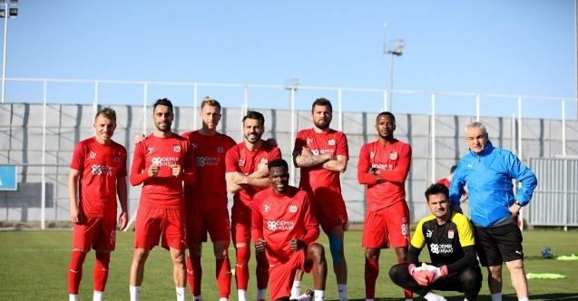 Sivasspor'da Kasımpaşa mesaisi başladı