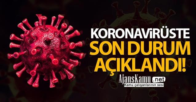 Son 24 Saat Korona virüs tablosu açıklandı