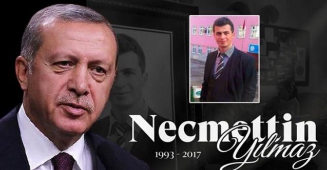 Cumhurbaşkanı Erdoğan, Necmettin öğretmeni unutmadı