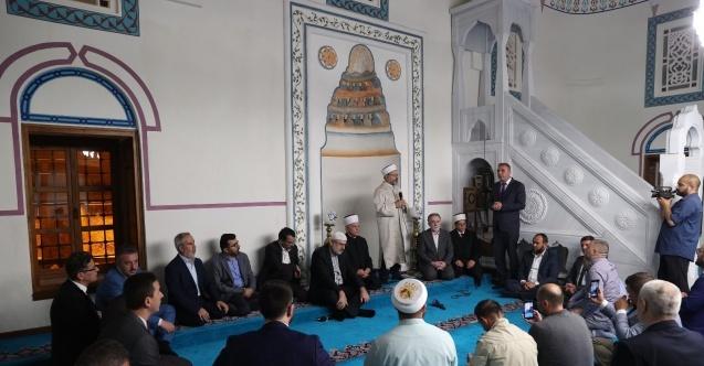 Diyanet İşleri Başkanı Erbaş Ohri'de