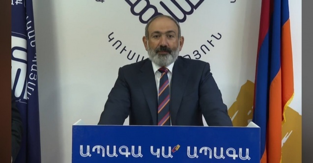 Ermenistan'da, Nikol Paşinyan'dan gece yarısı seçim zaferi konuşması