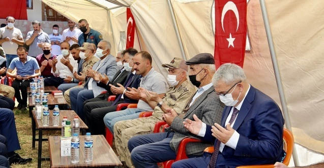 Jandarma Genel Komutanı Orgeneral Çetin'den şehit ailesine taziye ziyareti