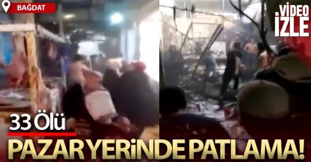 Bağdat'taki patlamada ölü sayısı 33'e yükseldi