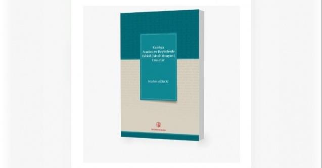Türk Dil Kurumunun Yeni Yayını