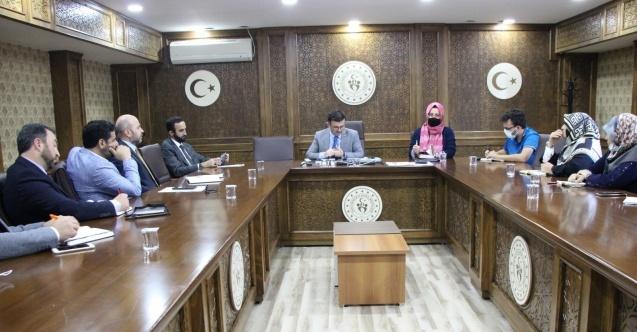 Manevi danışmanlar ve eğitim koordinatörleri toplantıda buluştu