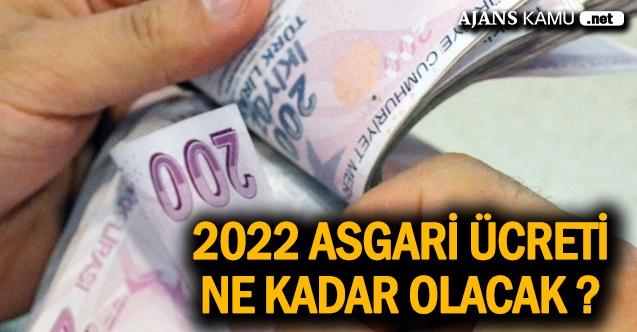 2022 asgari ücret zammı ne kadar olacak?... İşte ilk rakamlar