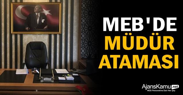 MEB'de Milli Eğitim Müdürü Ataması Yapıldı